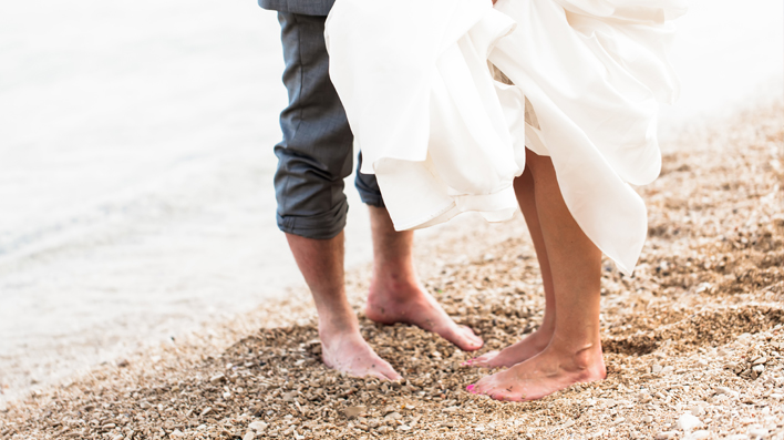 Beach weddings, love is in the air…