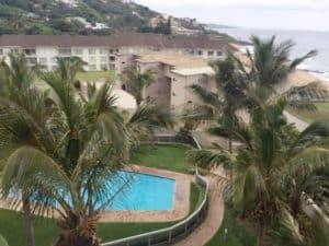 Ballito Manor Pool And Ocean View In Kwa-Zulu Natal North Coast