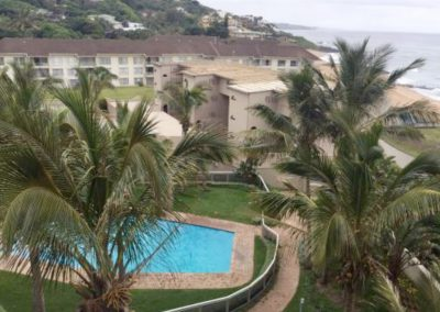 Ballito Manor Pool And Ocean View In Kwa-Zulu Natal North Coast